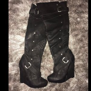 Knee high boots from Bakers